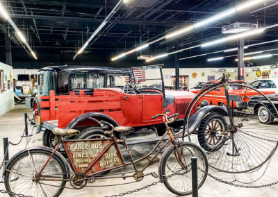 Miles Through Time Automotive Museum at the Old Clarkesville Mill